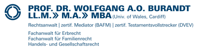 Prof. Dr. Wolfgang A.O. Burandt, LL.M.,M.A.,MBA (Wales)